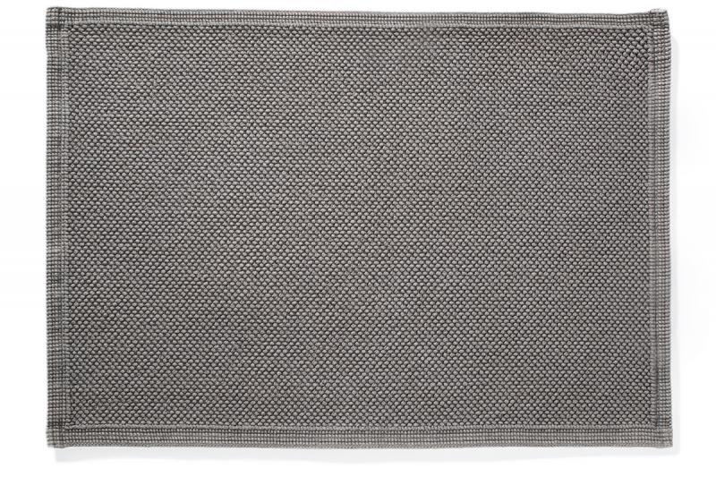 Badvorleger Miso anthrazit 50 x 70 cm