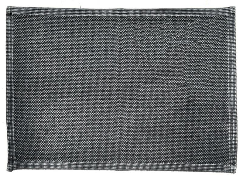 Badvorleger Miso Anthrazit fade out 60 x 100 cm