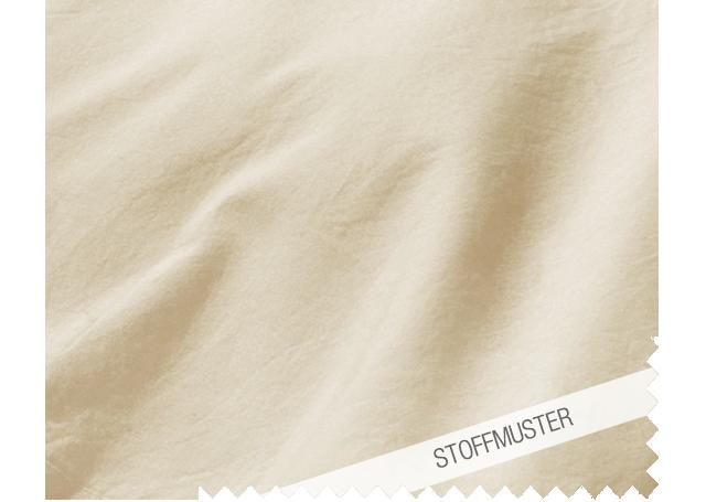 Stoffmuster zu Bettwäsche Gewaschene Baumwolle Düne
