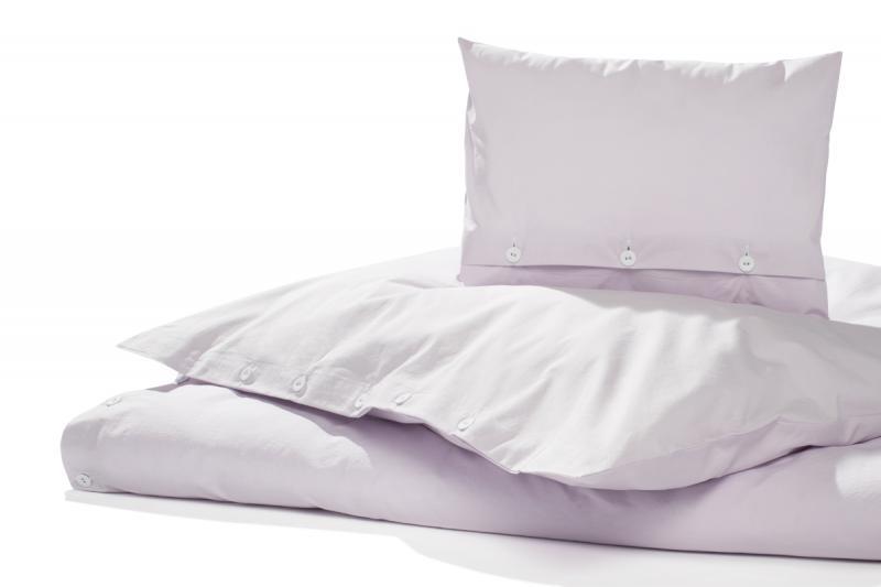 Bettwäsche Gewaschene Baumwolle Lila Eis