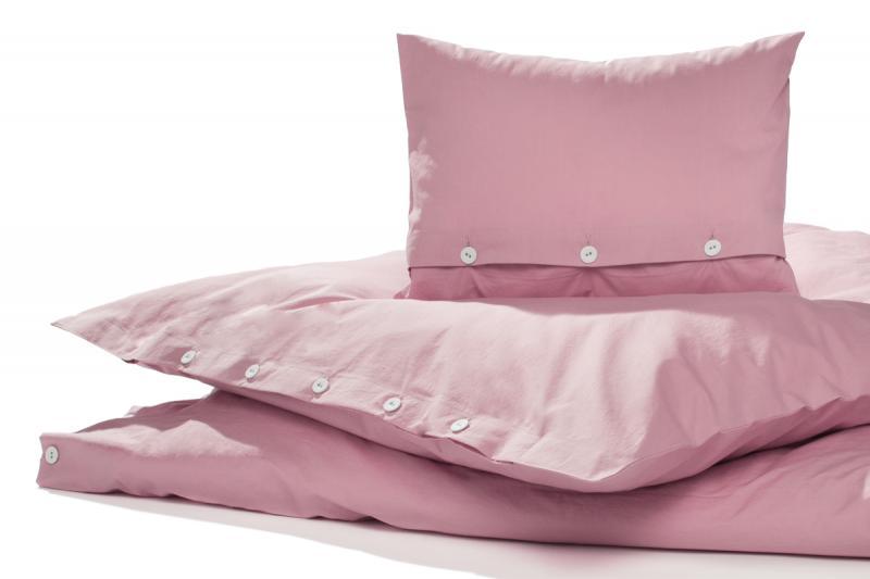 Bettwäsche Gewaschene Baumwolle Rouge