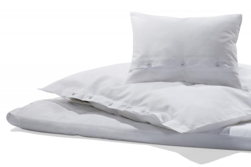 Bettwäsche Halbleinen weiss