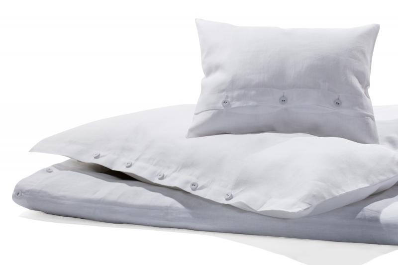 Bettwäsche Reines Leinen weiß