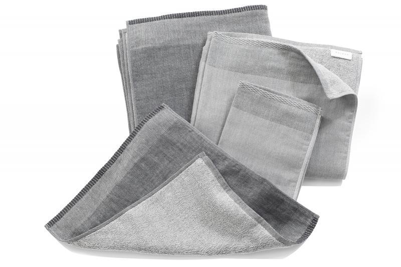 Handtuch Uchino Zen Charcoal Grau