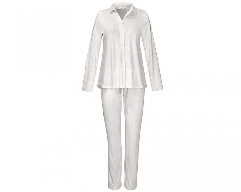 Yellamaris Pyjama Set Grau