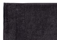 Handtuch Fyber Carrara Anthrazit Detailbild 2
