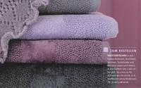 Handtuch Fyber Carrara Weiß Detailbild 5
