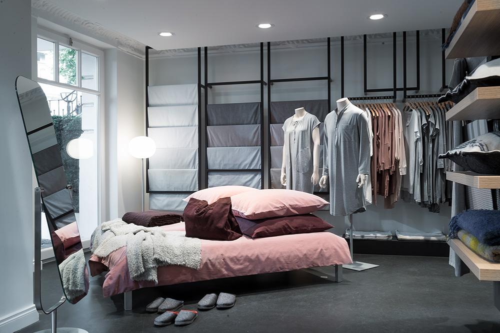 Stoffkontor Ladengeschäft Grindelhof - Bett und Nachtwäsche
