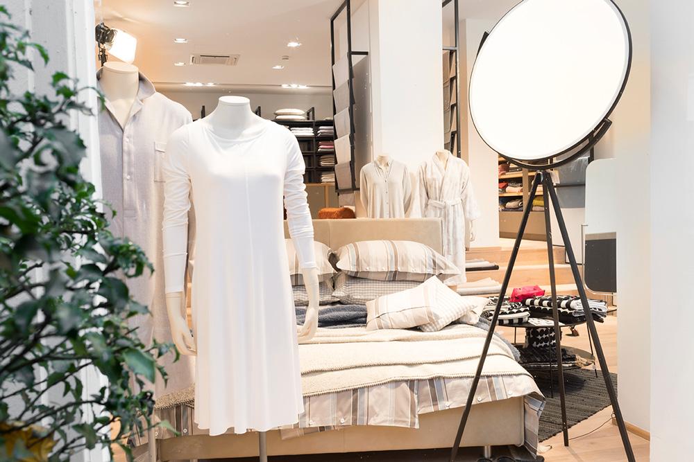 Stoffkontor Ladengeschäft ABC-Straße - Bett und Nachtwäsche
